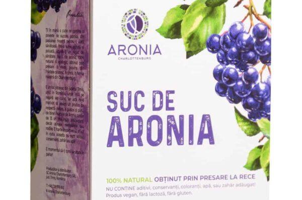 Suc de Aronia pentru sănătatea întregului organism
