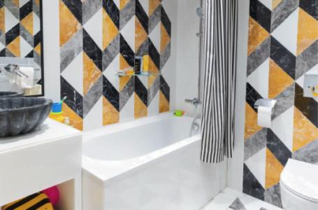 Amenajare baie de serviciu: 4 finisaje care se intretin usor